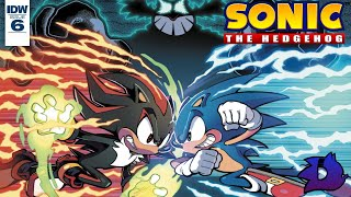 Sonic the Hedgehog (IDW) - Issue #6 Dub