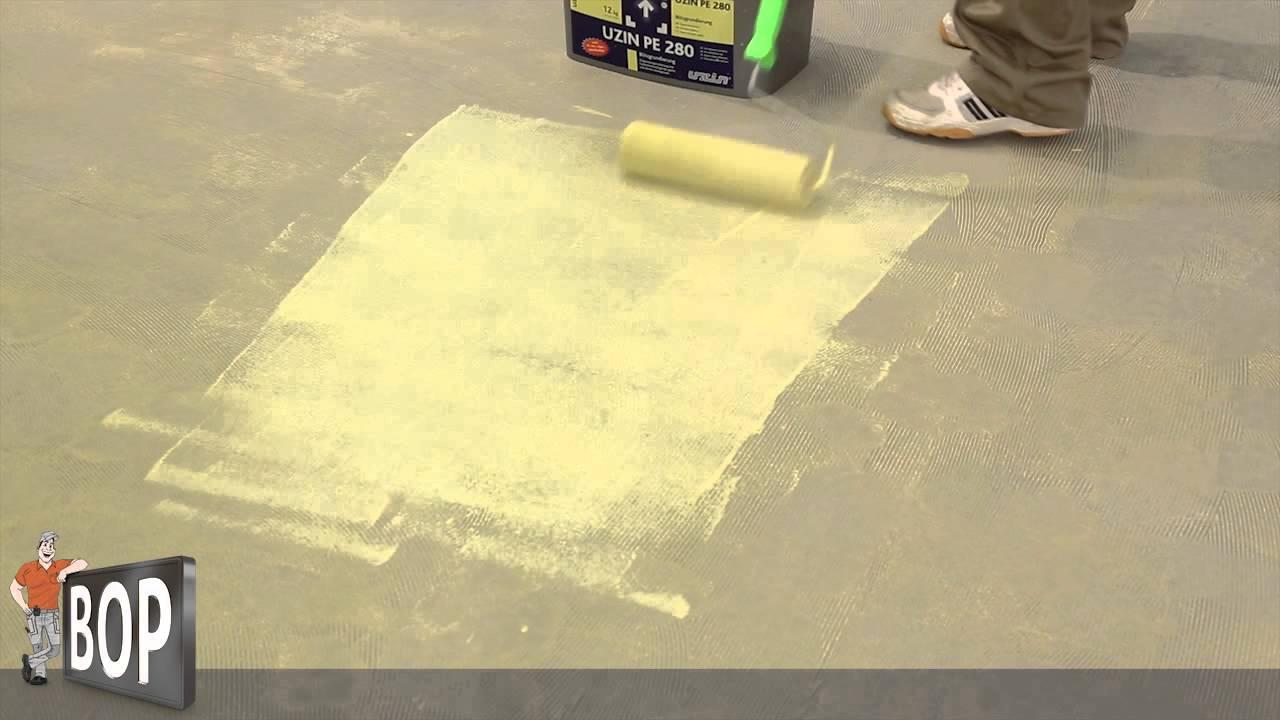 Fußboden Grundieren Fliesen ~ Estrich grundieren minute anleitung youtube