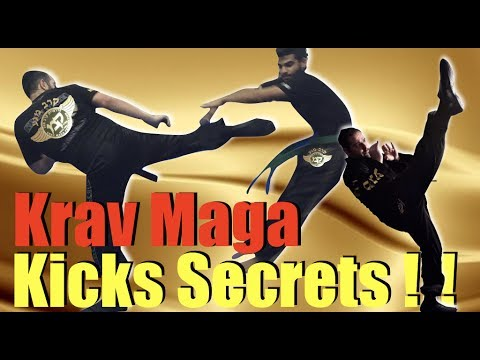 [KRAV MAGA  FREE TUTORIAL - HOW TO GET INCREDIBLE KICKS - BY EXPERT ALAIN COHEN]
