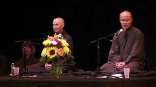 """Stop Waiting, Start Living"": Public Talk in NYC, 2015.09.12 (Sr. Jina and Br. Phap Dung)"