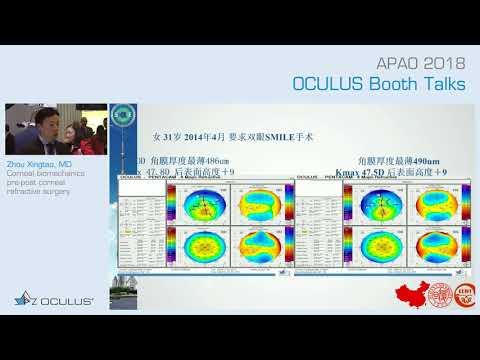 Zhou Xingtao: Corneal Biomechanics Pre-post Corneal Refractive Surgery