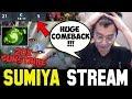 21-5 BIG Comeback with Refresher Cataclysm   Sumiya Invoker Stream Moment #445