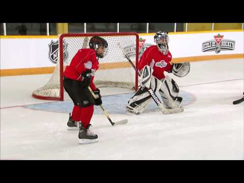 NHL Skills: Deflection Goals From Canadian Tire Hockey School
