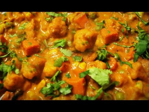 How to make MIXED VEGETABLE CURRY Recipe in Telugu