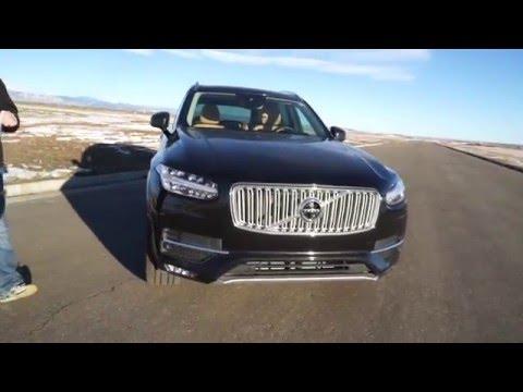 2016 Volvo Xc90 Inscription And Momentum Quick Look Doovi