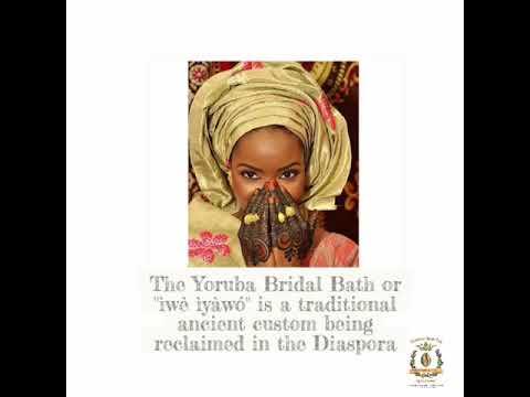 Oshún Bridal Bath: Reclaiming an Ancient West African Bridal Bath Ritual
