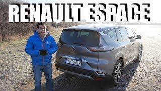 Renault Espace 2016 (ENG) - Test Drive and Review