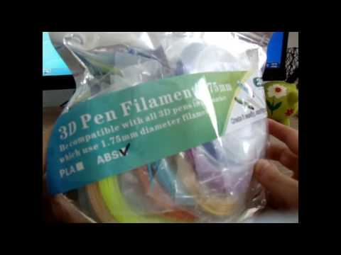 Sunlu 20PCS 5m 1 75mm ABS Filament - GEARBEST.COM
