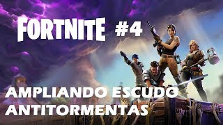 FORTNITE - SAVE THE WORLD #4 WE EXTEND ANTI-TORMENT SHIELD TO LEVEL 4 ENGLISH GAMEPLAY