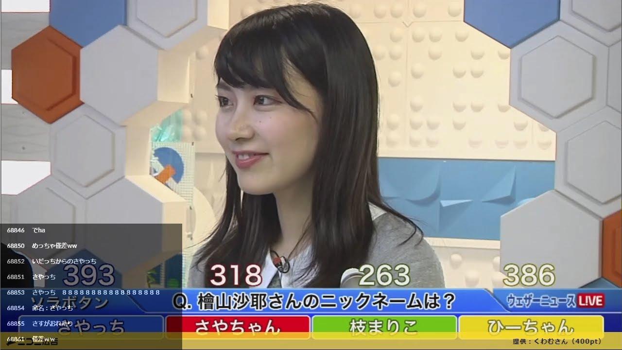 ニュース 檜山 沙耶 ウェザー