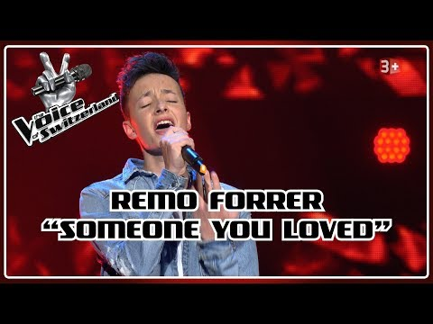 Remo Forrer - Someone You Loved   Blind Auditions   The Voice of Switzerland