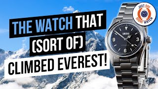 The Watch That (Sort Of) Climbed Everest! The Smiths PRS-25.