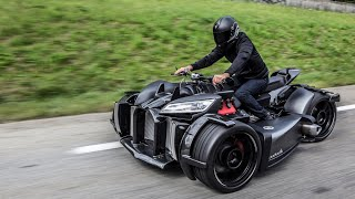 Wazuma V8M - Lazareth - V8 ENGINE POWERED TRIKE