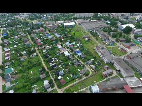 Козьмодемьянск, лето 2017 с высоты птичьего полёта