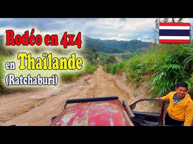 Rodéo en 4X4 dans les montagnes de Thaïlande - Khao Krajom Viewpoint à Racthaburi