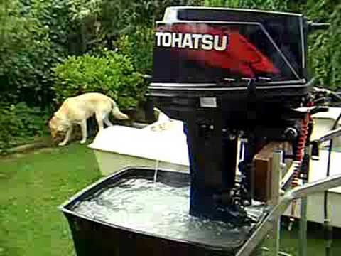 Tohatsu 25hp Outboard 2 Stroke Youtube