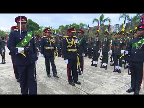 Commander Joins 68th Army Anniversary Military Parades & Ceremonials on Army Day