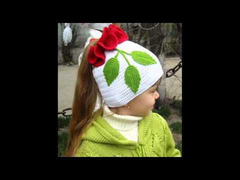 вязаные шапки » Вязание крючком и спицами схемы и модели
