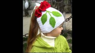 Симпатичные детские шапочки