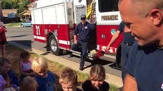 Junior Fire Badges 2017