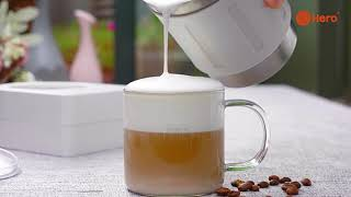 카페라떼만들기 우유거품기 전동 커피 밀크 가정용 선물 …