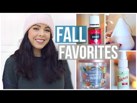 FALL 2017 FAVORITES! Fashion, Essential Oils, Beauty & MORE!