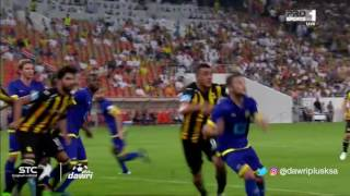 هدف النصر الأول ضد الاتحاد (فيكتور أيالا) في الجولة 9 من دوري جميل