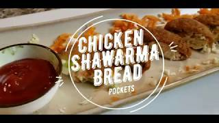 Chicken Shawarma Bread Pockets  Super Crunchy  How to make Chicken Shawarma  The Best Recipe