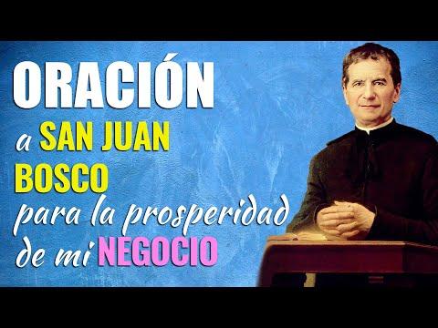 🙏 Oración a San Juan Bosco para la PROSPERIDAD DE MI NEGOCIO 👨🚒