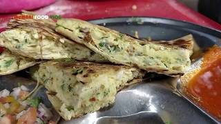 vuclip THICK EGG STUFFED PARATHA | Anda Paratha Indian Street Food