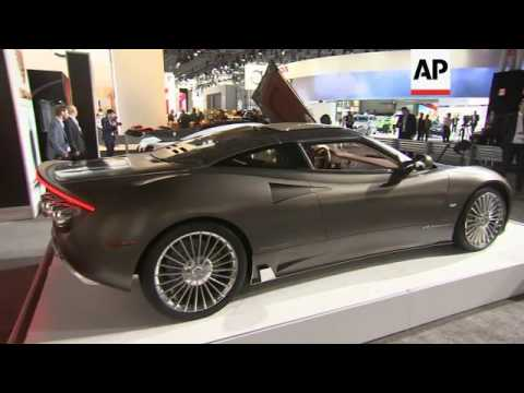 High-End Horsepower On Display At NY Auto Show