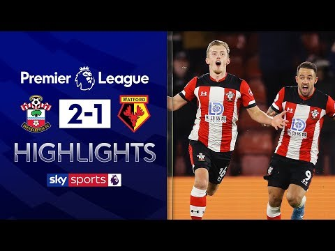 James Ward-Prowse's spectacular free-kick 🚀 | Southampton 2-1 Watford | Premier League Highlights