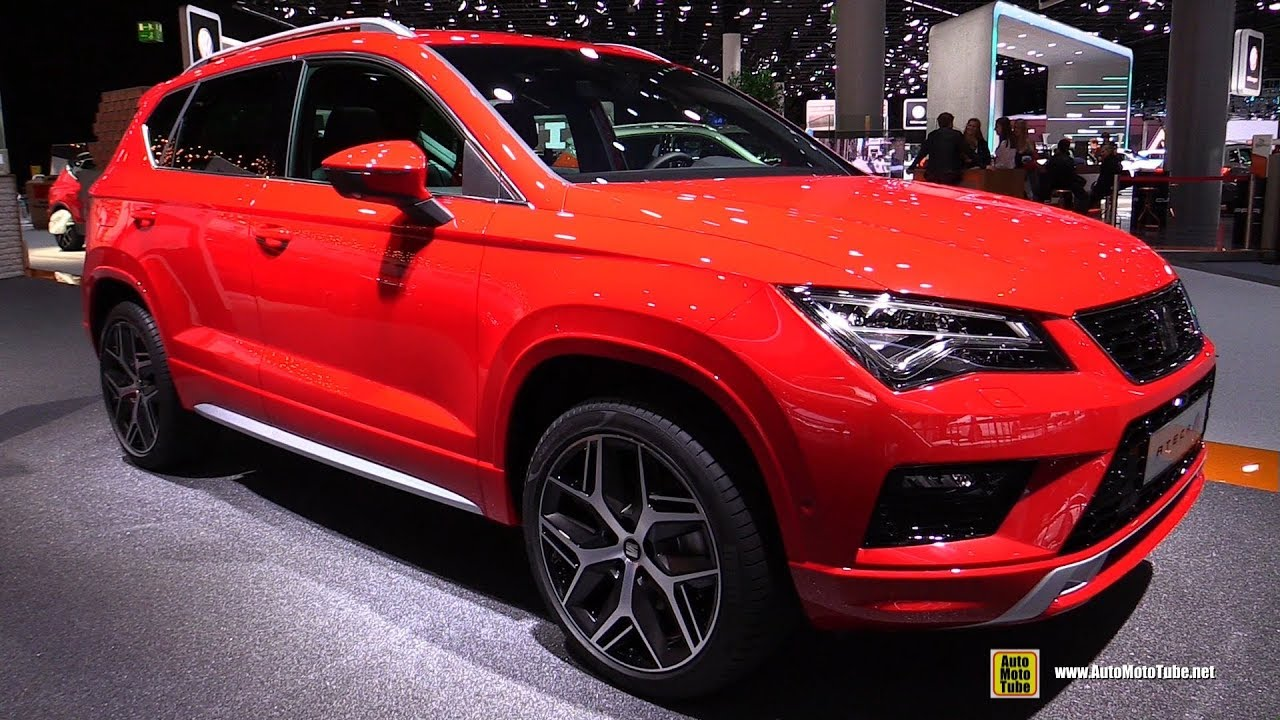 2018 seat ateca fr exterior and interior walkaround 2017 frankfurt auto show youtube. Black Bedroom Furniture Sets. Home Design Ideas