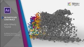 After Effects Tutorial - 3D Particle Logo Build with Trapcode Particular