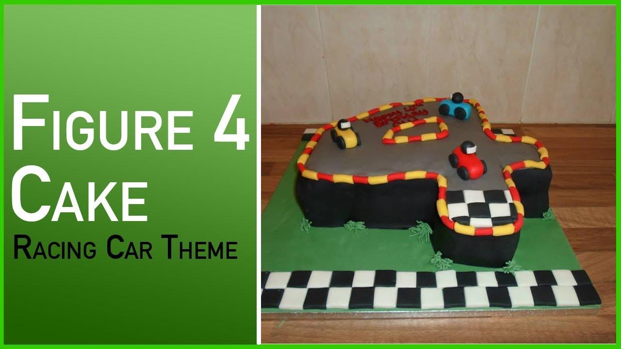 How to make a figure 4 cake racing car cake with a track theme how to make a figure 4 cake racing car cake with a track theme baditri Choice Image