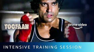 Toofaan Farhan S Intense Training Session Amazon Prime Video