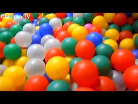 Шарики Батут Горки Развлекательные центры Игры для Детей Balls Slides Trampoline Games Children TV