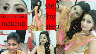 Baixar Aaj Karenge ring ceremony makeup