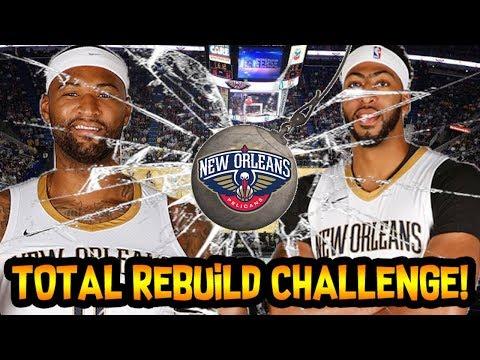 TRADING ANTHONY DAVIS + DEMARCUS COUSINS! NEW ORLEANS PELICANS TOTAL REBUILD! NBA 2K18 MY LEAGUE