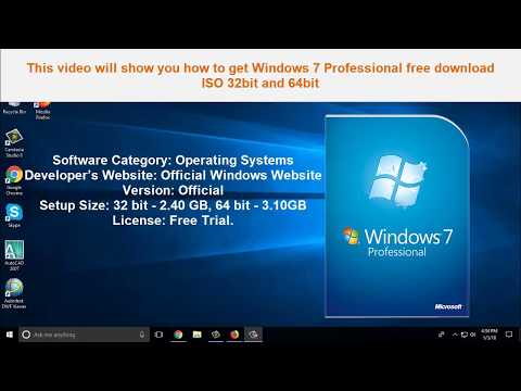 Windows 7 professional iso trial download