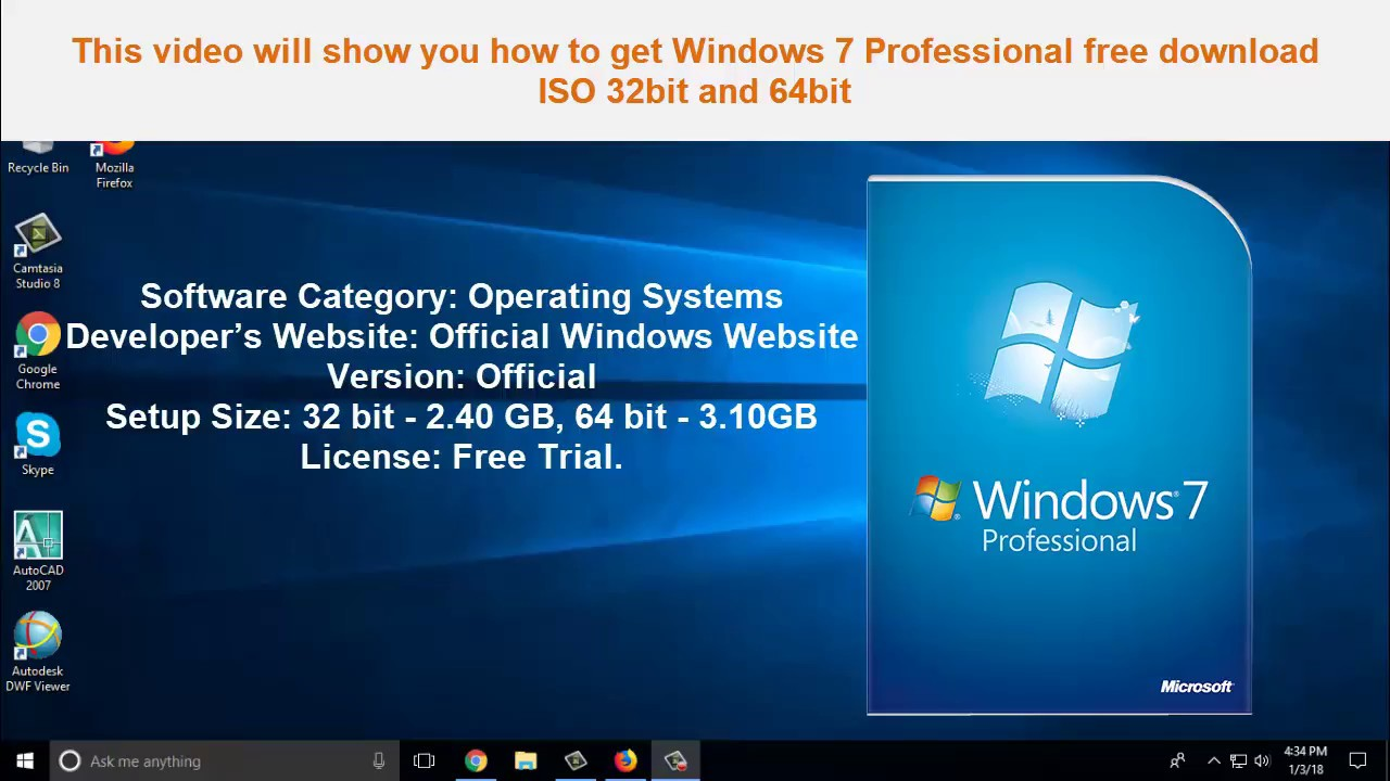download window 7 free 64 bit