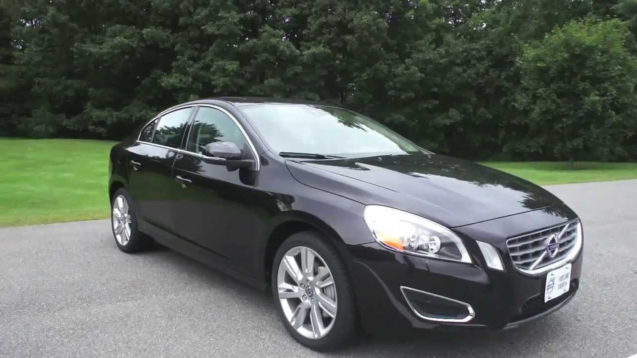 2013 Volvo S60 T6 Awd W Platinum Trim Black On Black From