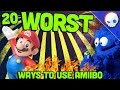 Top 20 WORST uses for Amiibo | Gnoggin x Arlo