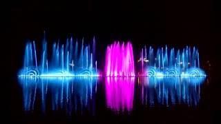 Лазерное ШОУ НА Озере Абрау-Дюрсо сентябрь 2016 году