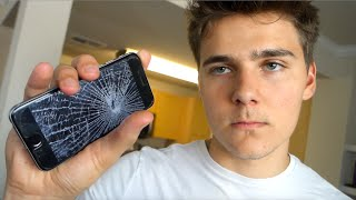 HIS IPHONE 7 BROKE!?