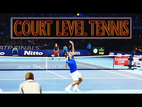 Court Level View Best Points ● Tennis On Another Level Part 1
