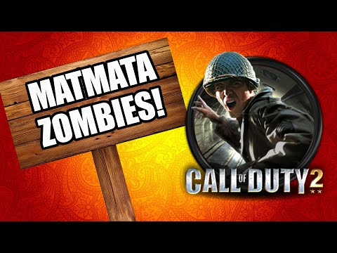 CALL OF DUTY 2 MATMATA ZOMBIES (Call of Duty Zombies) thumbnail