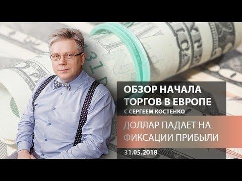 Аналитика рынка Форекс: Доллар падает на фиксации прибыли - Обзор открытия европейской сессии