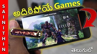 Top 4 Android games of February 2018 - must play games of week in telugu