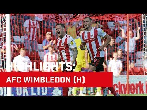 Highlights: Sunderland v AFC Wimbledon